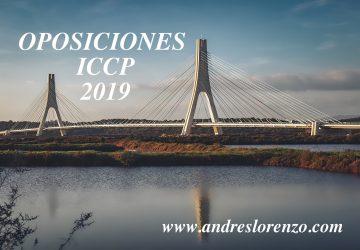 Oposiciones ICCP 2019
