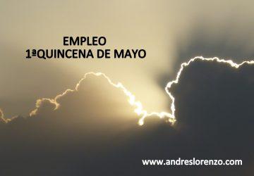 Empleo 1ºQuincena Mayo 2019