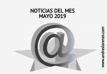 Noticias del mes Mayo'19