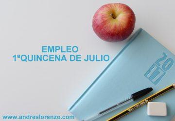 Empleo 1ªQuincena Julio