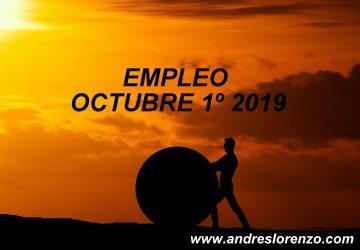 Empleo Octubre 1º