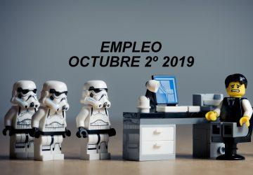 Empleo Octubre 2º 2019