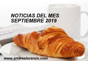 Noticias Septiembre'19