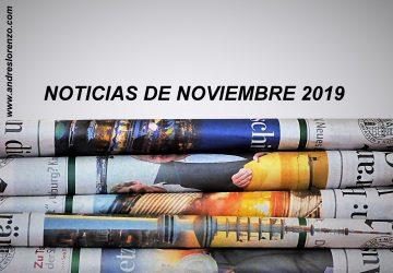 Noticias Noviembre'19