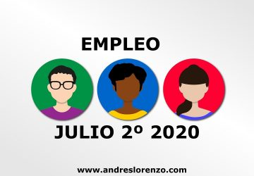 Empleo Julio 2º 2020