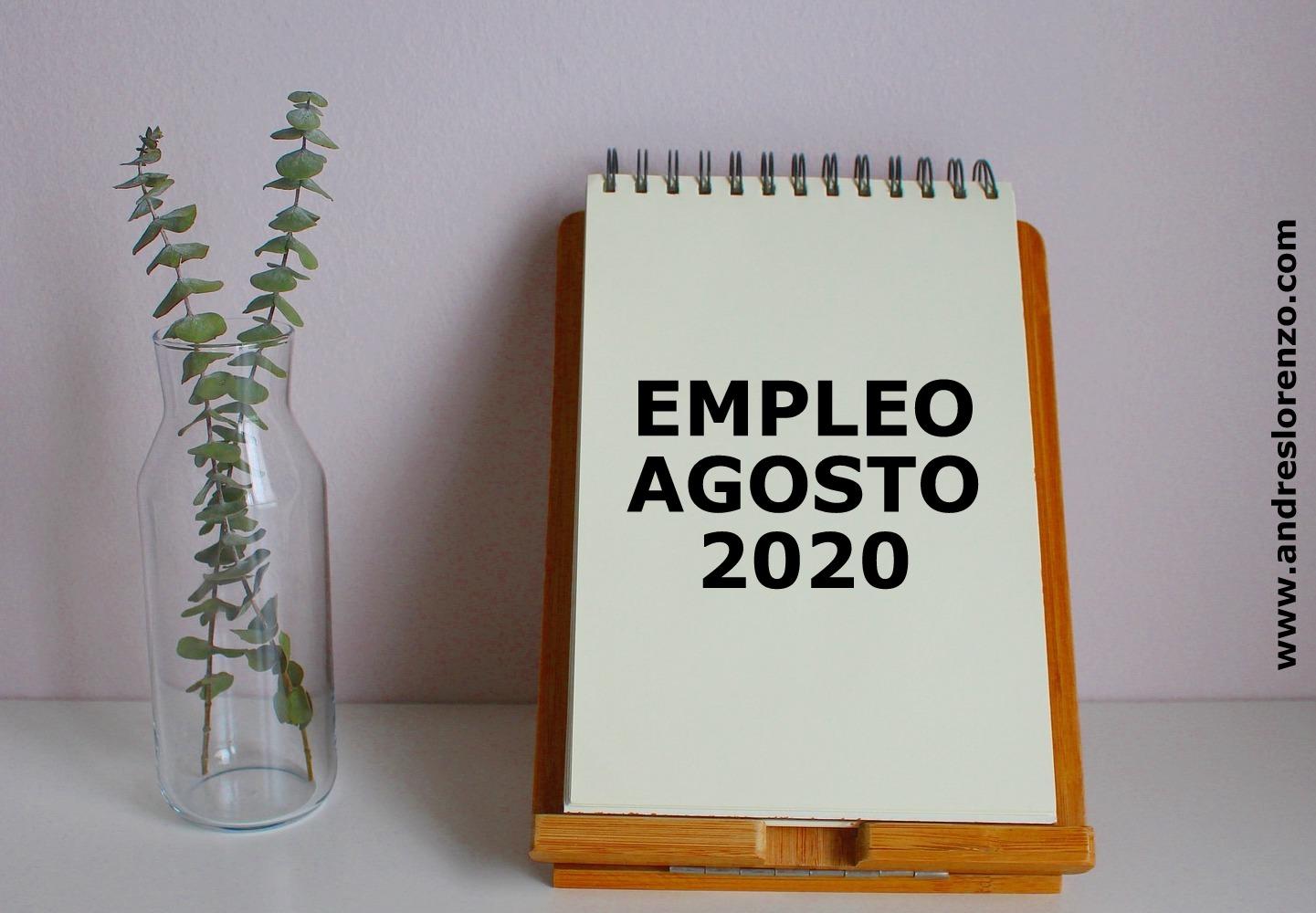 EMPLEO AGOSTO 2020