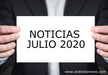 Noticias Julio 2020