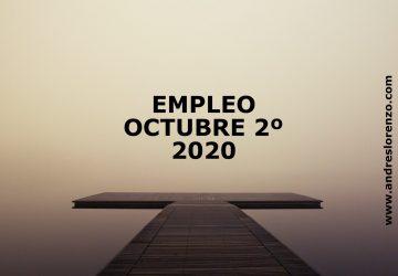 Empleo Octubre 2º 2020