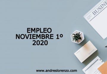 Empleo Noviembre 1º 2020