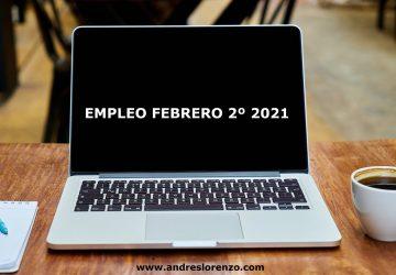 Empleo Febrero 2º 2021