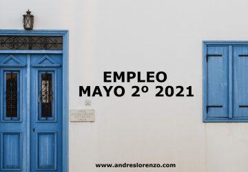 Empleo Mayo2º 2021