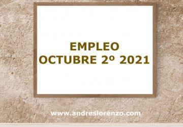 Empleo Octubre 2º 2021